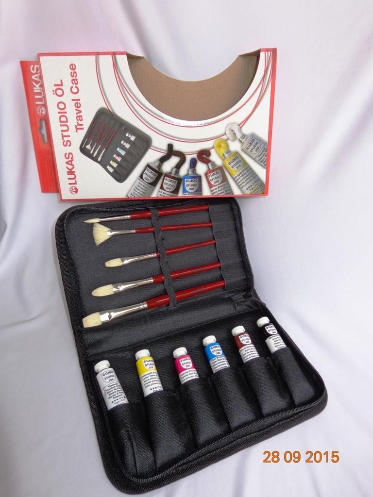Estojo de viagem óleo Lukas Studio 6 cores 20 ml
