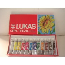 Kit Cryl Terzia 12 cores 12 ml
