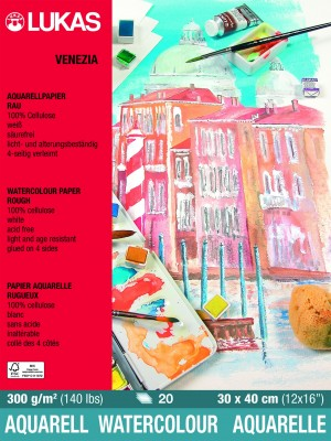 Papel para aquarela celulose Venezia 300 g/m2 grande