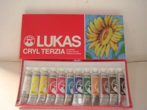 Kit Cryl Terzia 12 cores 12 ml