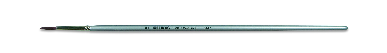Pincel sintético Taklon redondo longo