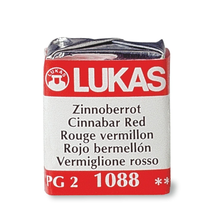 Aquarela profissional master Lukas 1862 (1/2 Pastilha)