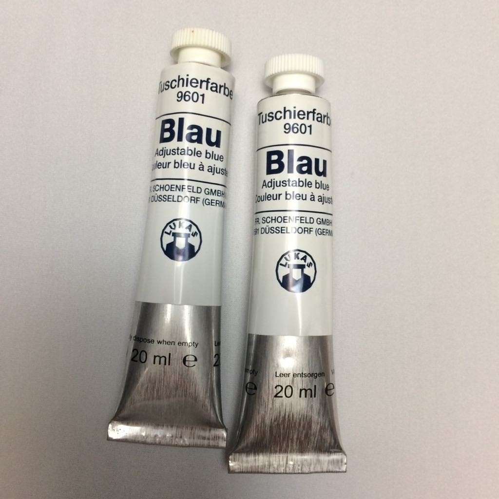 Tinta industrial Adjustable Blue