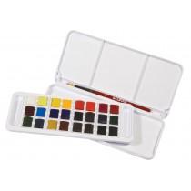 Estojo 24 cores Aquarela Studio