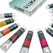 Kit Gouache Lukas Studio 12 cores 20 ml