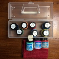 Kit 10 cores Acryl Paint Matt