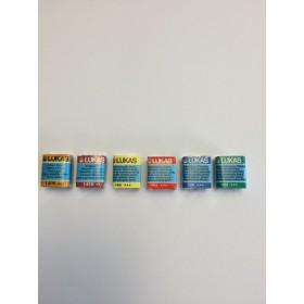 Kit Aquarela - 6 pastilhas Lukas Studio