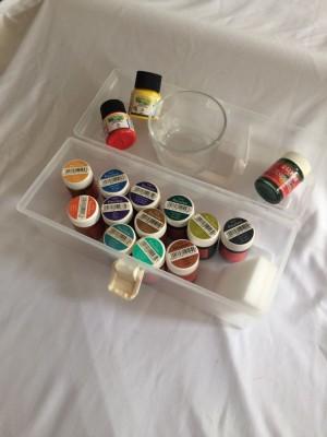 Maleta Porcelan Art 21 cores