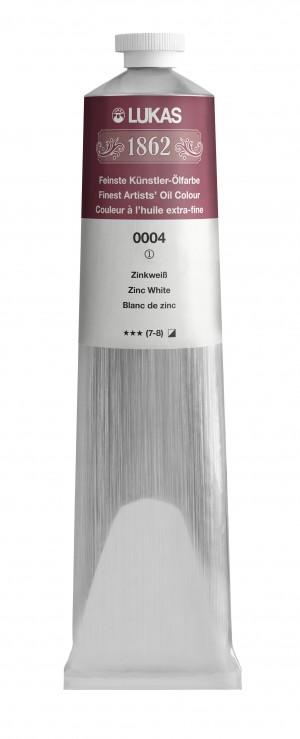 Tinta óleo master Lukas 1862 - Branco de zinco (125 ML)