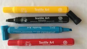 Kit de canetas para tecido Art Fabric