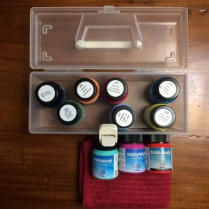 Kit 10 cores Acryl Paint Matt